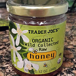 Trader Joe's Organic Wild Collected Raw Honey
