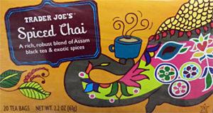 Trader Joe's Spiced Chai Tea