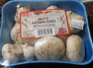 Trader Joe's White Mushrooms