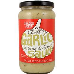 Trader Joe's Many Clove Garlic Cooking & Simmer Sauce