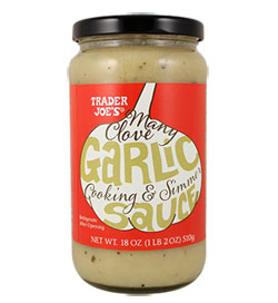 Trader Joe's Many Clove Garlic Cooking & Simmer Sauce
