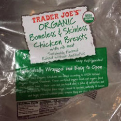 Trader Joe's Organic Boneless Skinless Chicken Breasts