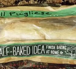 Trader Joe's Half-Baked Pugliese Bread