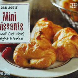 Trader Joe's 8 Mini Croissants