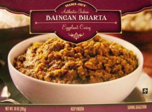 Trader Joe's Baingan Bharta Eggplant Curry