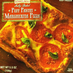 Trader Joe's Puff Pastry Margherita Pizza