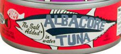 Trader Joe's Canned Albacore Tuna (No Salt Added)