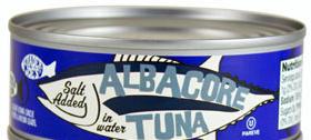 Trader Joe's Canned Albacore Tuna (Salt Added)