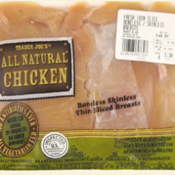 Trader Joe's All Natural Chicken Breasts