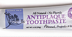 Trader Joe's Antiplaque Toothpaste