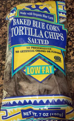 Trader Joe's Baked Blue Corn Tortilla Chips