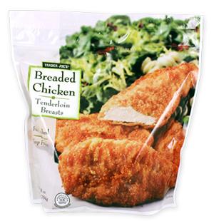 Trader Joe's Breaded Chicken Tenderloin Breasts