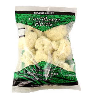 Trader Joe's Cauliflower Florets