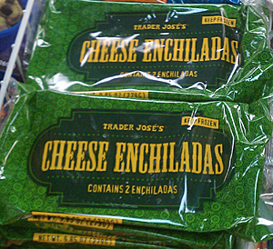 Trader Joe's Cheese Enchiladas