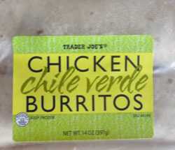Trader Joe's Chicken Chile Verde