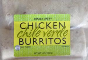 Trader Joe's Chicken Chile Verde