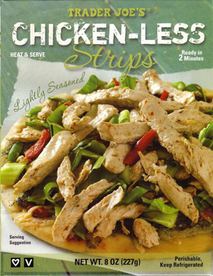 Trader Joe's Chicken-Less Strips