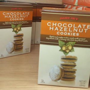 Trader Joe's Chocolate Hazelnut Cookies