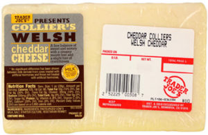 Trader Joe's Collier's Welsh Cheddar Cheese