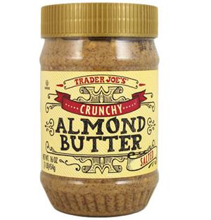 Trader Joe's Crunchy Salted Almond Butter