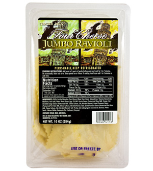 Trader Joe's Four Cheese Jumbo Ravioli