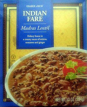 Trader Joe's Indian Fare Madras Lentil