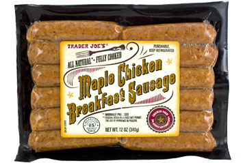 Trader Joe's Maple Chicken Breakfast Sausage