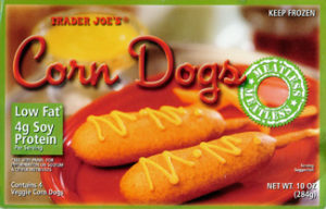 Trader Joe's Meatless Corn Dogs