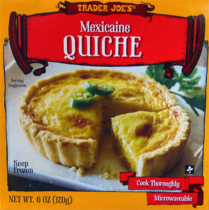 Trader Joe's Mexican Quiche