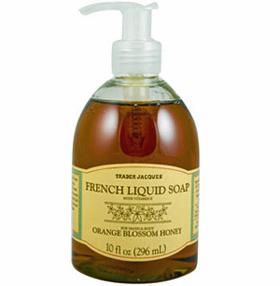 Trader Joe's Orange Blossom Honey French Liquid Soap