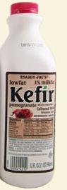 Trader Joe's Pomegranate Kefir