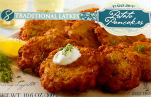 Trader Joe's Traditional Latkes Potato Pancakes