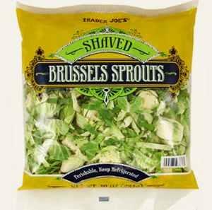 Trader Joe's Shaved Brussels Sprouts