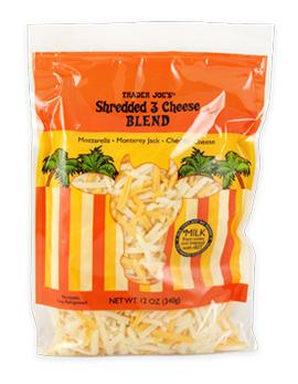 Trader Joe's Shredded 3 Cheese Blend