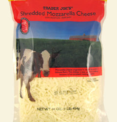 Trader Joe's Shredded Mozzarella Cheese