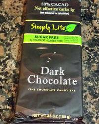 Trader Joe's Simply Lite Dark Chocolate
