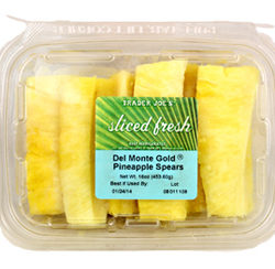 Trader Joe's Pineapple Spears