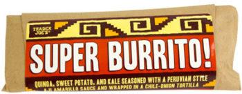 Trader Joe's Quinoa Super Burrito