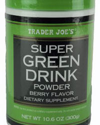 Trader Joe's Super Green Drink Powder
