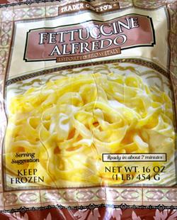 Trader Joe's Fettuccine Alfredo