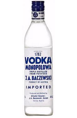 Trader Joe's Vodka Monopolowa