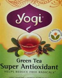 Trader Joe's Yogi Green Tea Super Antioxidant