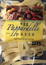 Trader Joe's Egg Pappardelle Pasta