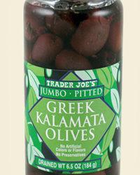 Trader Joe's Jumbo Pitted Greek Kalamata Olives