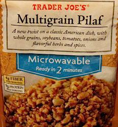Trader Joe's Multigrain Pilaf
