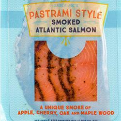 Trader Joe's Pastrami Style Smoked Atlantic Salmon
