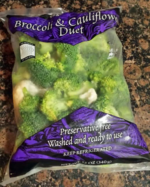Trader Joe's Broccoli & Cauliflower Duet