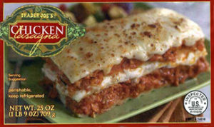 Trader Joe's Chicken Lasagna