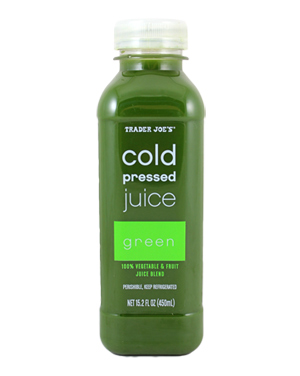 Trader Joe's Cold Pressed Green Juice