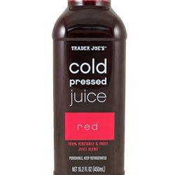 Trader Joe's Cold Pressed Red Juice